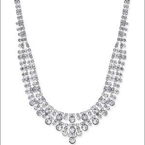 NWT charter club crystal collar necklace